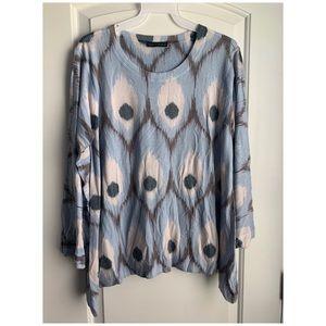 EUC Nally & Millie blue soft sweater